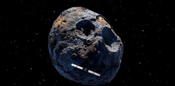 Знищення великого астероїду