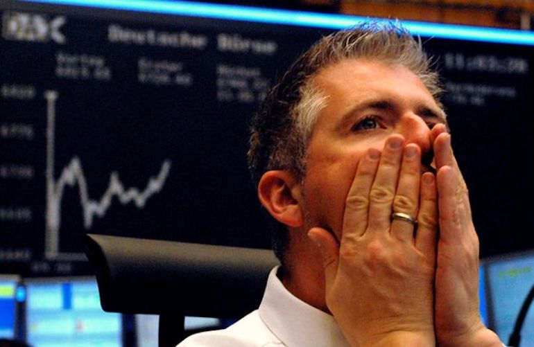 Криза на фінансовій біржі в 2020 році