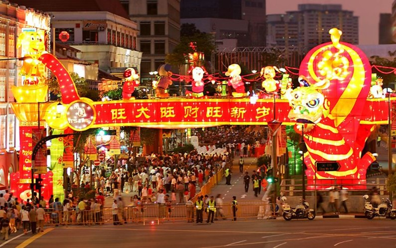 Китайці святкують китайський Новий 2020 рік