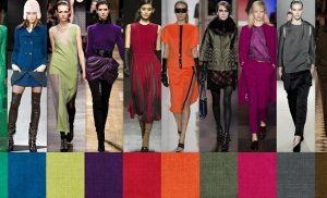 Модні кольори осінь-зима 2019-2020