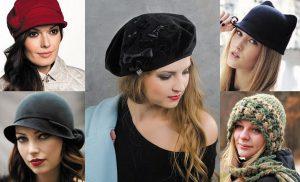 Модні жіночі капелюхи осінь-зима 2019-2020