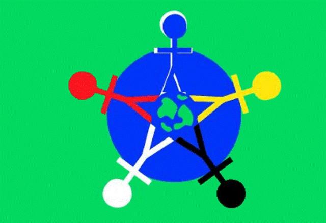 Зелений прапор - міжнародний символ Дня захисту дітей