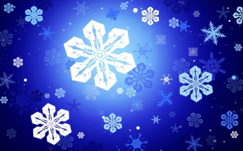 Сніжинки на Новий рік 2020
