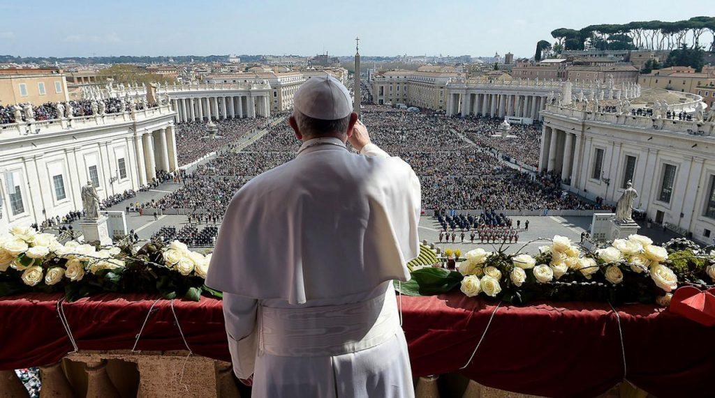 Папа Римський вітає усіх католиків з католицьким Великоднем