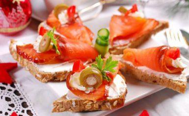 Прості і смачні бутерброди на Новий рік 2020