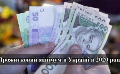 Яким буде прожитковий мінімум в 2020 році в Україні