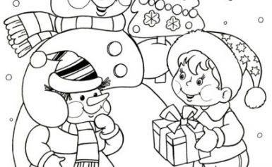 Малюнки на Новий 2022 рік для змальовування
